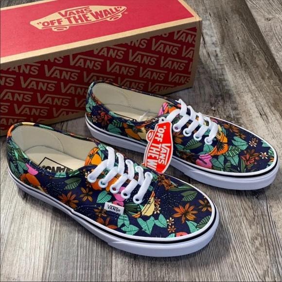 Vans Shoes   Vans Authentic Floral Shoes Sneakers   Poshmark